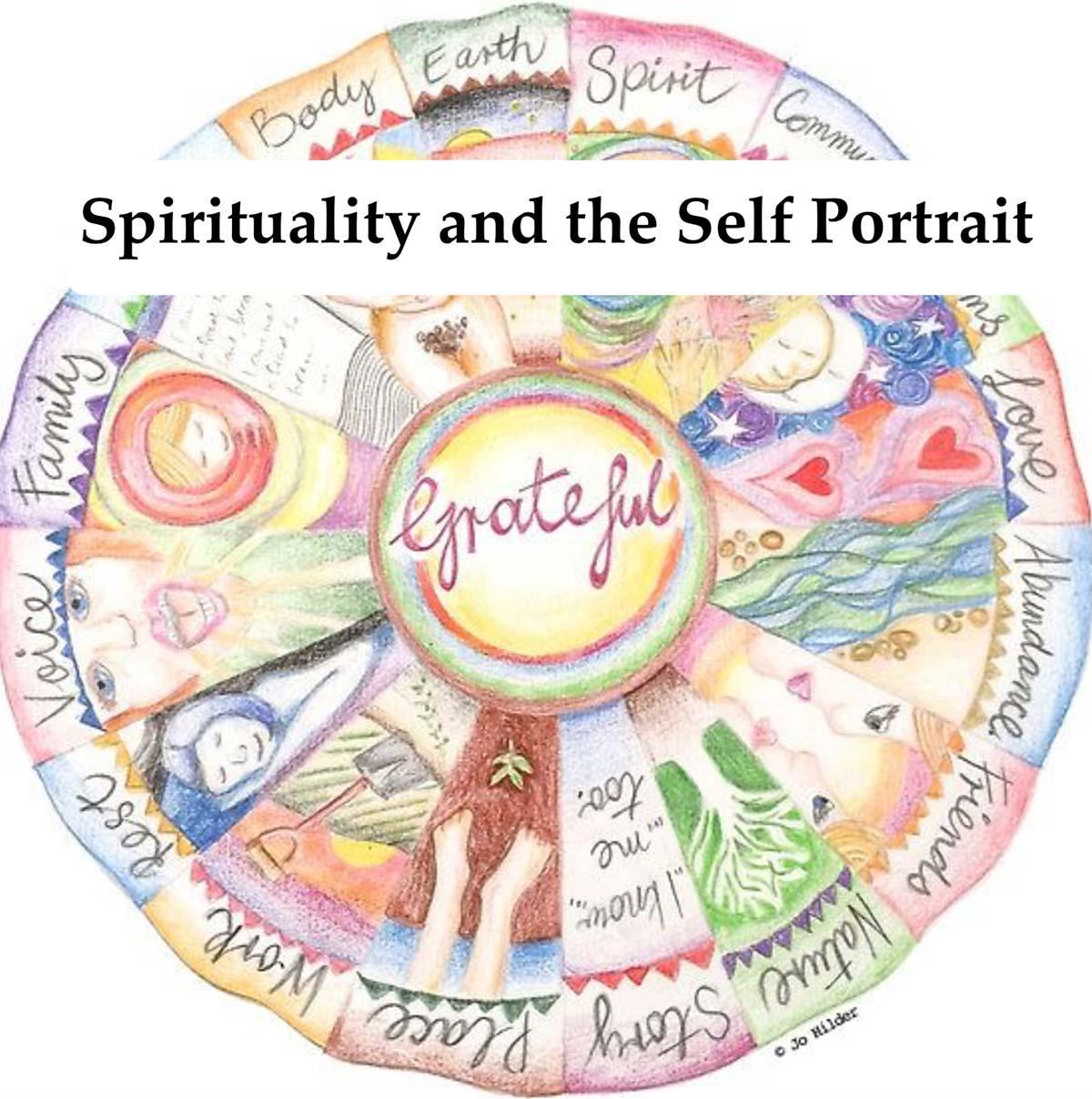 Spirituality and the Self Portrait mandala